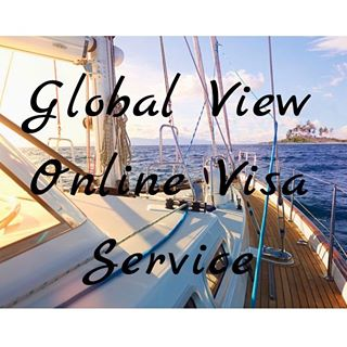 Логотип Global View Online Visa Service